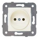Розетка без заземления крем (узел)WKTT02012BG-BY Panasonic