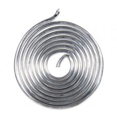 Припой ПОС 61 спираль без канифоли диаметр 2 мм 10 гр RUS 60571