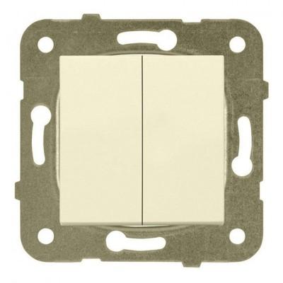 Выключатель 2-кл крем (узел)WKTT00092BG-BY Panasonic