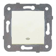 Выключатель 1-кл перекрестный кремовый WKTT00052BG-BY Panasonic без рамки