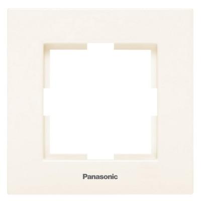 Рамка 1-на постовая  крем Аркадия WMTF08012BG-BY Panasonic
