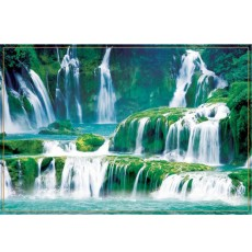 Декоративное панно Каскад водопадов 294х201  (9 листов)