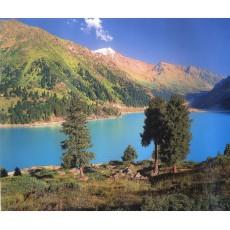 Декоративное панно Озеро в горах 294х201  (9 листов)