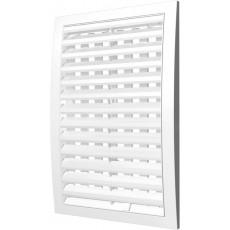 Решетка наружная ASA вентиляционная регулируемая 200х300, 2030РРПН белая
