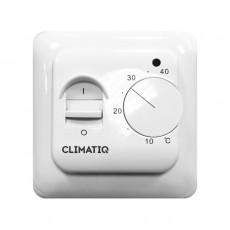Базовый терморегулятор CLIMATIQ BT (белый) механическое управление