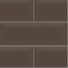 Плитка облицовочная Beveled Tile Choco TD-BT-CH 10*30 см