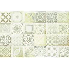 Декор Равенна зеленый D 20*30 см