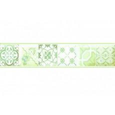 Бордюр Равенна зеленый G 6*30 см