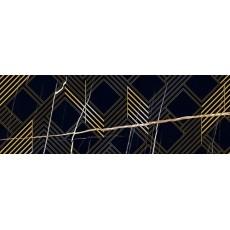 Декор 24,2*70 ROYAL NERO ORO