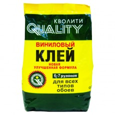 Клей для обоев виниловых QUALITY 200 г, 6-7 рулонов