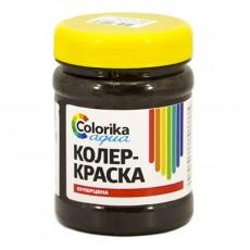 """Колер-краска """"Colorika aqua"""" темно-коричневая 0,3 кг"""