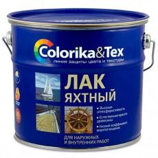 """Лак для яхт глянцевый """"Colorika&Tex"""" 2,7 л"""