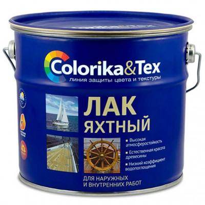 """Лак для яхт полуматовый """"Colorika&Tex"""" 2,7 л"""