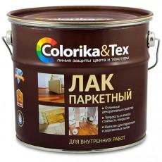 """Лак паркетный алкидно-уретановый """"Colorika&Tex"""" глянцевый 2,7 л"""