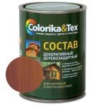"""Состав деревозащитный лиственница  """"Colorika & Tex"""" 0,8л"""