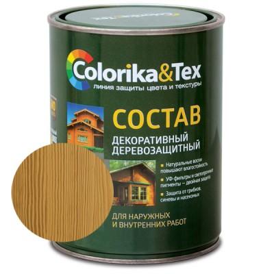 """Состав деревозащитный орегон """"Colorika & Tex"""" 0,8 л"""