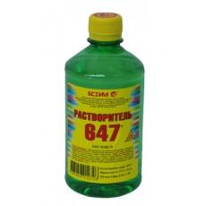 Растворитель 647 0,5л ПЭТ