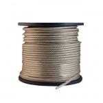 Трос в оплетке ПВХ 3мм/4 мм (200 м)