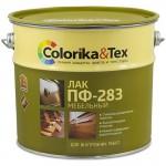Лак ПФ-283 мебельный глянцевый «Colorika&Tex» для внутренних работ 2,7 л