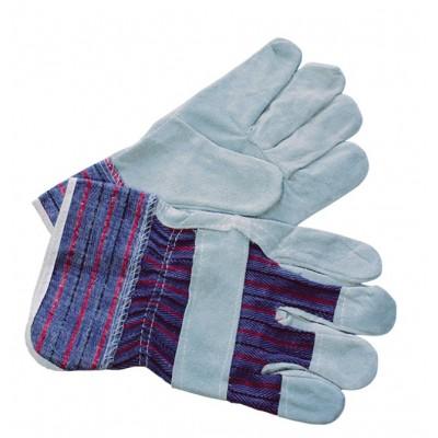 Перчатки рабочие, замшевые серые 7001001