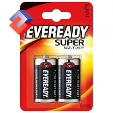 Батарейки EVEREADY SUPER HD C/2шт R-14