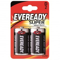 Батарейки EVEREADY SUPER HD D/2шт