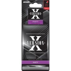 "Ароматизаторы для автомобиля ""AREON"" X-VER 704-045-XV1 (party)"