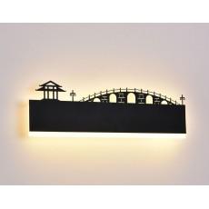 Светильник 6011-16W Black