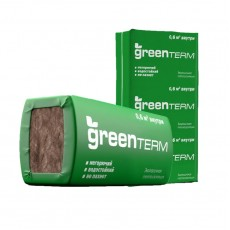 Минеральная изоляция GREEN TERM TS 037 Плита 040 (16*50*610*1230) 12м2, 0,6м3