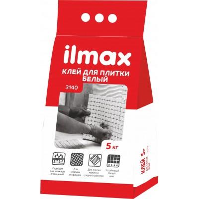 """Клей плиточный белый """"Илмакс 3140"""" 5кг"""