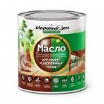 Масло для террас и деревянных полов орех Здоровый Дом 0,75 л