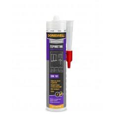 Герметик силиконовый DONEWELL универсальный белый 260 мл