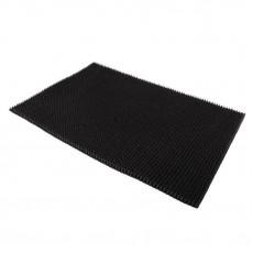 Коврик напольный из щетинистого покрытия  черный 45х60