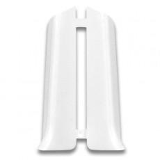 Угол торцевой Деконика 70 мм Белый 001