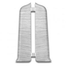 Угол торцевой Деконика 70 мм Ясень серый 253