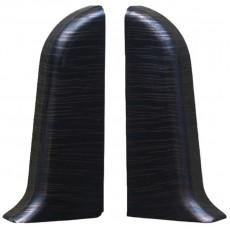 Заглушка для плинтуса Идеал К55 -Венге чёрный