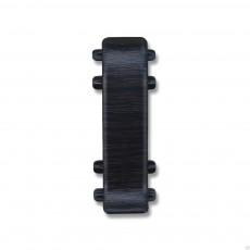 Соединение для плинтуса Идеал Е67- Венге Чёрный