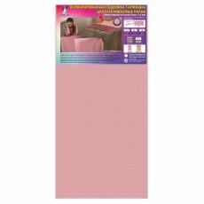 Подложка-гармошка перфорированная для полов с подогревом Солид 1050х500х1,8 мм,розовая, упаковка 8,4 м2