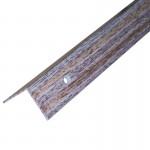 Порог АЛ-169 угол/упак/дуб беленый 1,0 м
