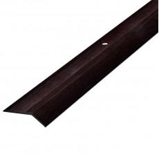 Порог АЛ-002 кант/упак/венге 0,9 м