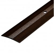 Порог А5-37мм алюминиевый Дуб мокко №061 длина 0,9м
