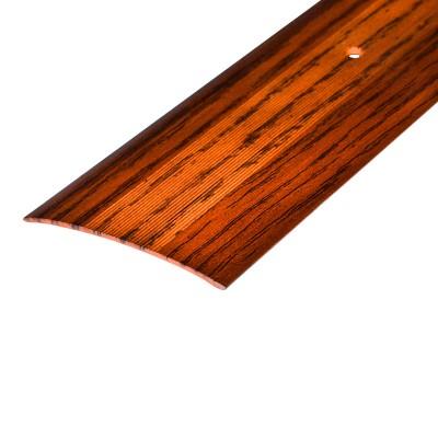 Порог АЛ-348 стык/упак/дуб темный 0,9 м