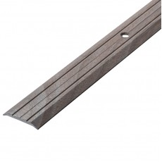 Порог А1-25мм алюминиевый декор Ясень белый №106 длина 0,9м