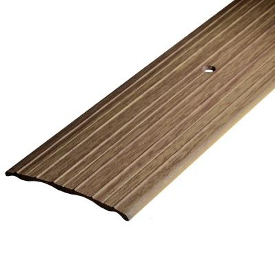 Порог А60-60мм алюминиевый декор цвет Дуб беленый №087 0,9 м