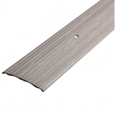 Порог С4-39,4 мм алюминиевый декор цвет Ясень белый №106 0,9 м