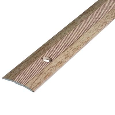 Порог АЛ-163 стык/упак/дуб выбеленый 0,9 м