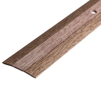Порог АЛ-125 стык/упак/дуб беленый 1,35 м