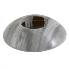 Розетты напольные пластиковые d-32мм Сосна серебристая №195 ГРЕЙС (1уп-2шт)