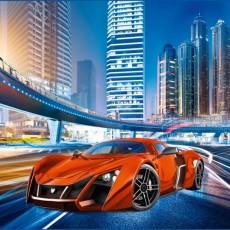 Декоративное панно VIP Авто -21 век 294х260 (12 листов)