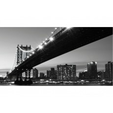 Фотообои Ночной Бруклин DECOCODE 13-0282-WВ (130х250 см)